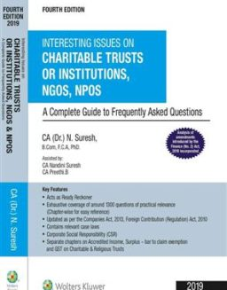 Interesting Issues on Charitable Trusts Institutions,Nandini Suresh, CCH