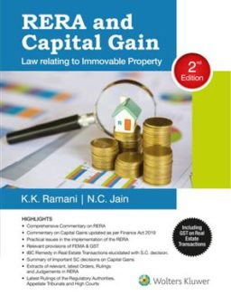 RERA Capital Gains Laws Relating Immovable Property K K Ramani CCH